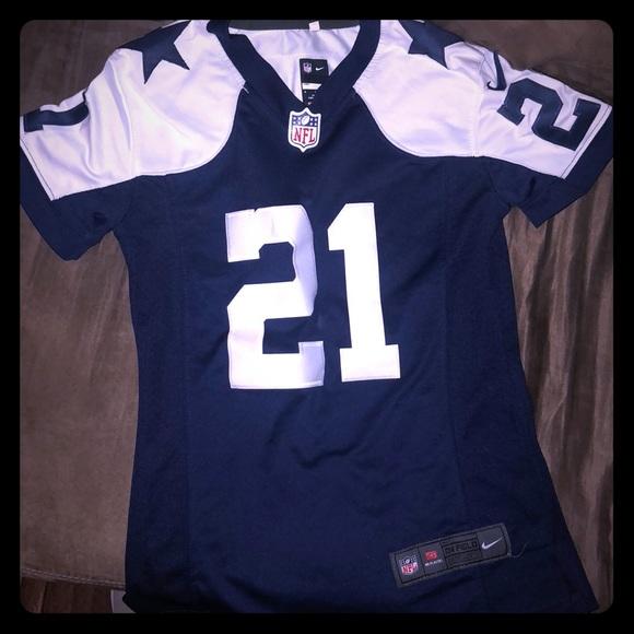 best sneakers 61f3d fb54f Youth Dallas Cowboys Zeke Elliott Jersey